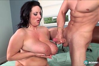 Kitty Lee and student - happy cumshot