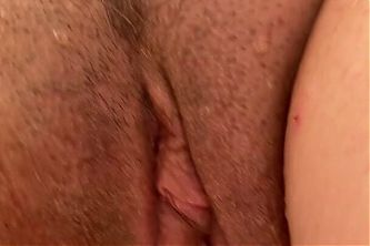 Mrs Fist doing her morning squirt